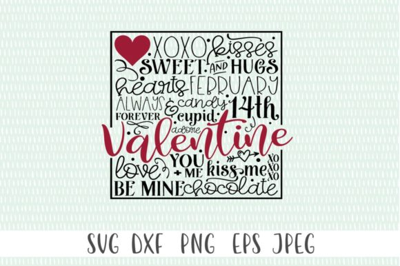 Download Free Valentine S Subway Art Graphic By Simply Cut Co Creative Fabrica for Cricut Explore, Silhouette and other cutting machines.