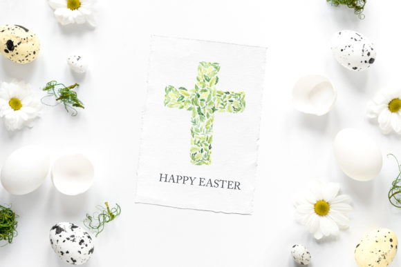 Watercolor Easter Floral Crosses Graphic Illustrations By Larysa Zabrotskaya - Image 7