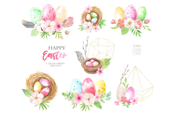 Watercolor Easter Spring Bunny Set Graphic Illustrations By Larysa Zabrotskaya - Image 12