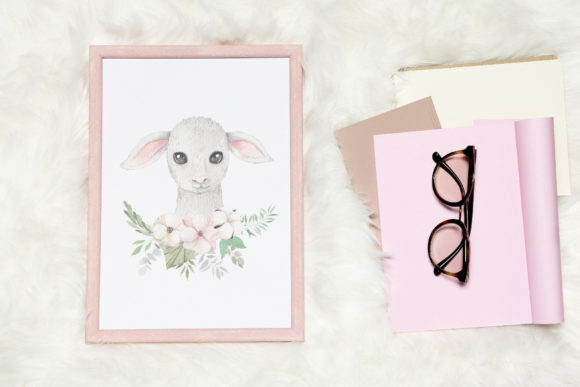 Watercolor Easter Spring Bunny Set Graphic Illustrations By Larysa Zabrotskaya - Image 15