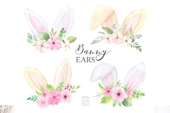 Watercolor Easter Spring Bunny Set Graphic Illustrations By Larysa Zabrotskaya - Image 9