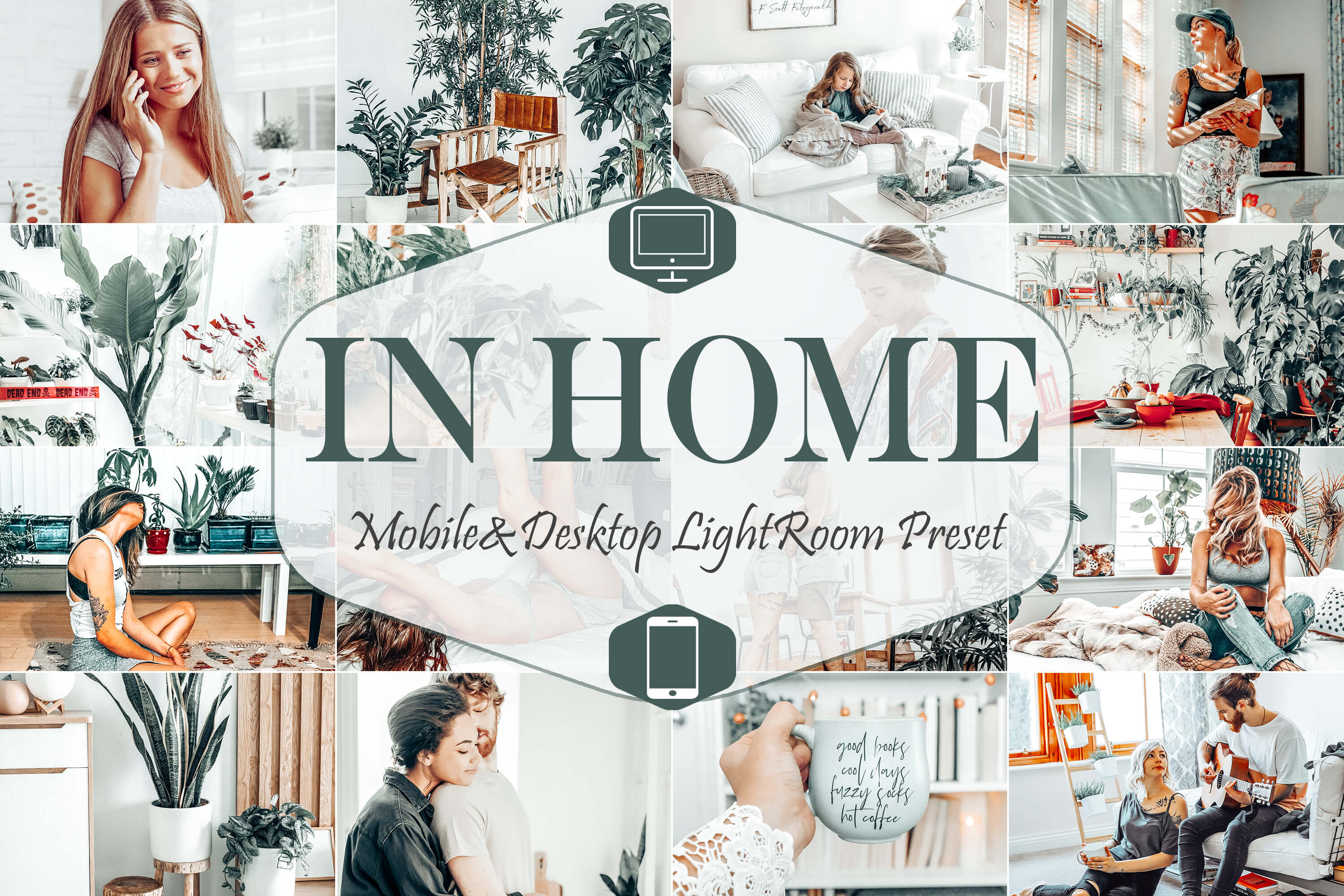 Download Free 10 Home Lightroom Presets Graphic By Mattte Studio Creative for Cricut Explore, Silhouette and other cutting machines.