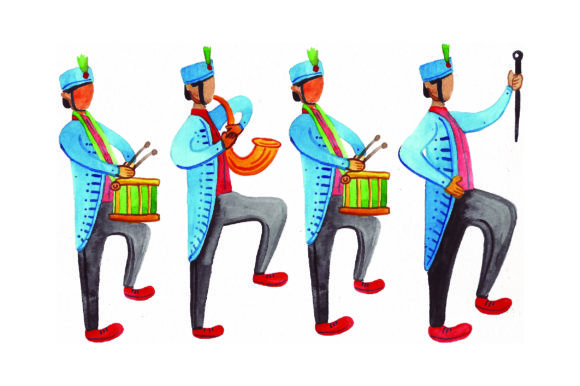 Marching Band Music Craft Cut File By Creative Fabrica Crafts
