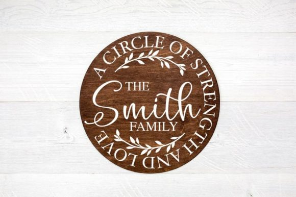Print on Demand: A Circle of Strength and Love Graphic Crafts By Simply Cut Co
