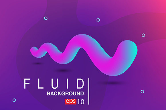 Abstract Gradients Fluid 3D Sound Wave Graphic Backgrounds By apple