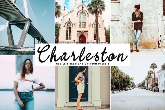 Print on Demand: Charleston Lightroom Presets Pack Graphic Actions & Presets By Creative Tacos - Image 1
