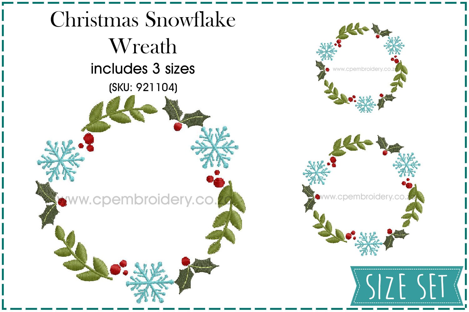 Download Free Christmas Snowflake Wreath Creative Fabrica for Cricut Explore, Silhouette and other cutting machines.