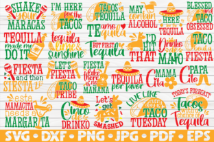 Download Free Cinco De Mayo Quotes Bundle 25 Designs Graphic By Mihaibadea95 for Cricut Explore, Silhouette and other cutting machines.