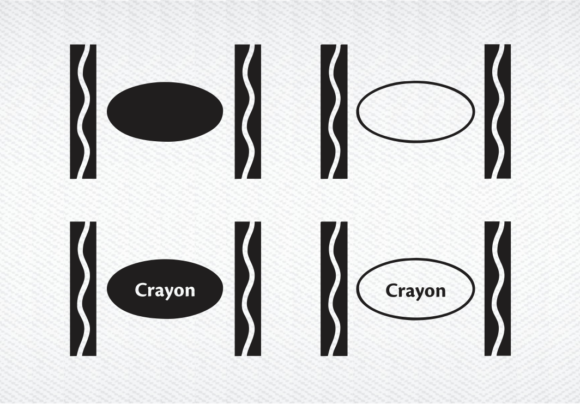 Download Free Crayon Design Crayon Inspired Graphic By Svg Den Creative Fabrica for Cricut Explore, Silhouette and other cutting machines.