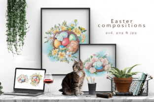 Easter Graphic Illustrations By nicjulia
