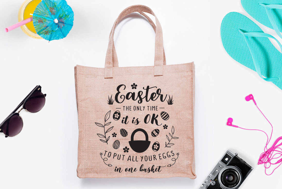 Download Free Easter Quote Graphic By Nerd Mama Cut Files Creative Fabrica for Cricut Explore, Silhouette and other cutting machines.