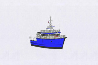 Ferry Ship Beach & Nautical Embroidery Design By DigitEMB