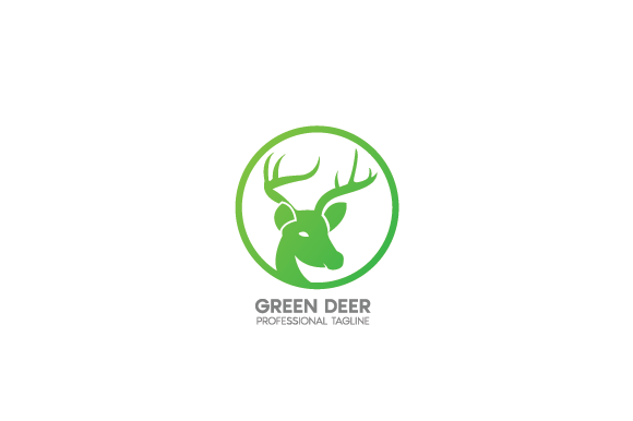 Download Free Green Deer Grafico Por Andikastudio Creative Fabrica for Cricut Explore, Silhouette and other cutting machines.