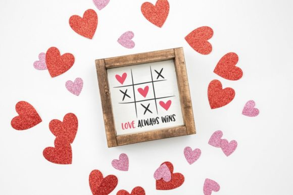 Print on Demand: Love Always Wins Valentine's Day Graphic Crafts By Simply Cut Co