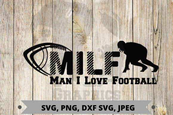 Download Free Man I Love Football Graphic By Pit Graphics Creative Fabrica for Cricut Explore, Silhouette and other cutting machines.