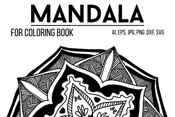 Print on Demand: Mandala to Color 03 Graphic Coloring Pages & Books Adults By stanosh - Image 1