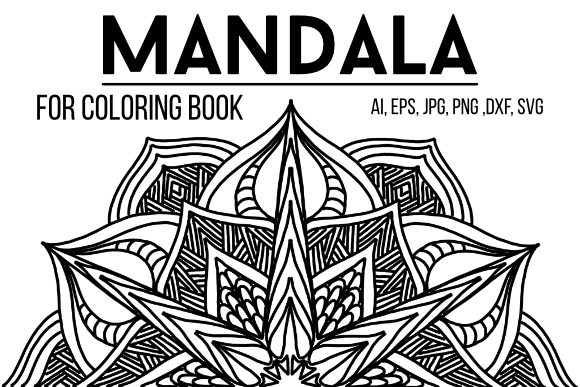 Print on Demand: Mandala to Color 05 Graphic Coloring Pages & Books Adults By stanosh