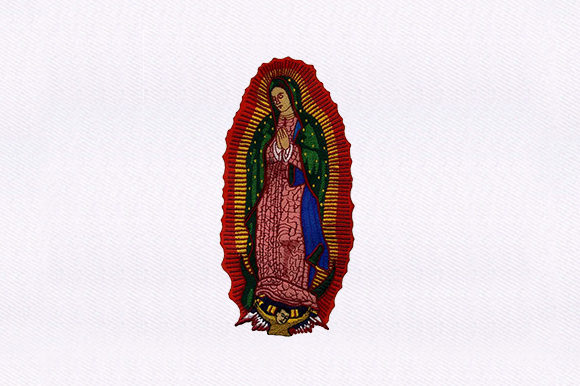 Praying Madonna Religion & Faith Embroidery Design By DigitEMB