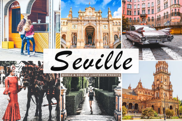 Print on Demand: Seville Lightroom Presets Pack Gráfico Acciones y Pre-ajustes Por Creative Tacos