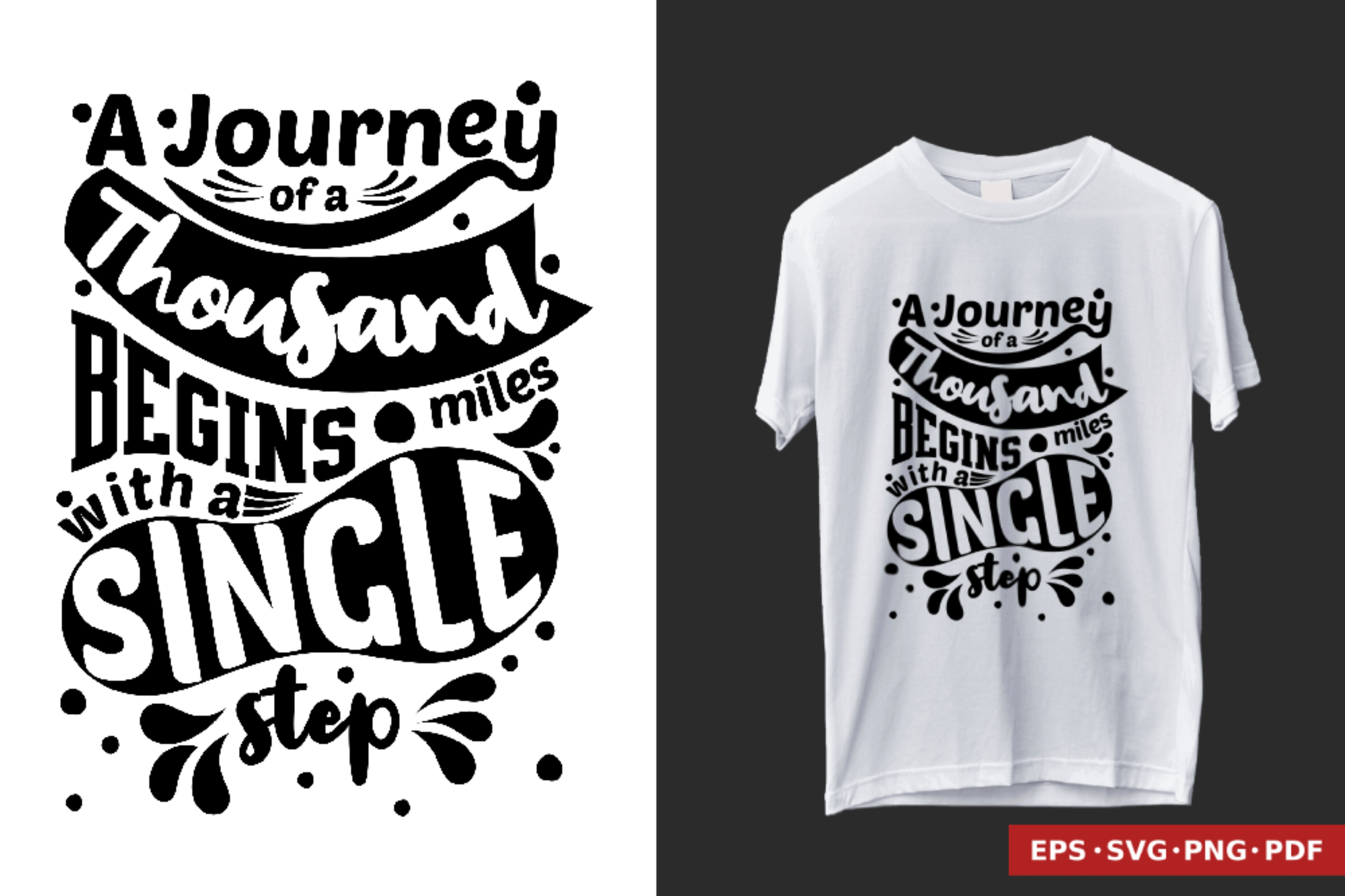 Download Free T Shirt Design Quote Hand Lettering Graphic By Brixbrian for Cricut Explore, Silhouette and other cutting machines.