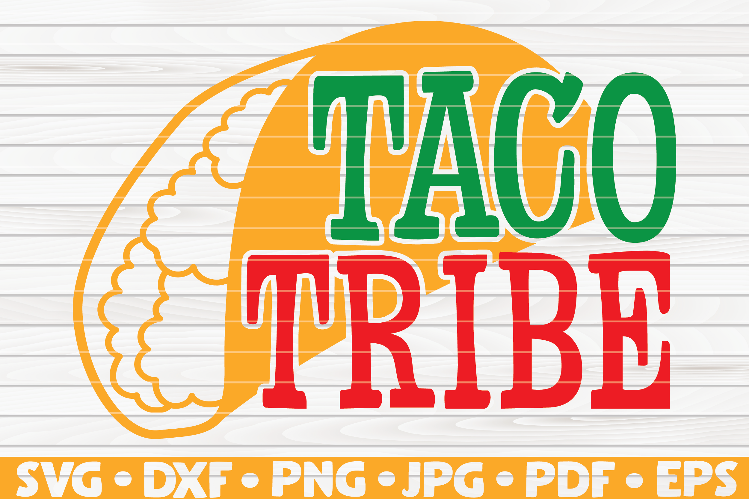 Download Free Taco Tribe Cinco De Mayo Graphic By Mihaibadea95 Creative for Cricut Explore, Silhouette and other cutting machines.