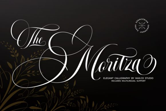 Print on Demand: The Moritza Script & Handwritten Font By Max.co