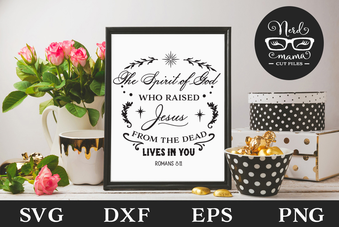 Download Free The Spirit Of God Graphic By Nerd Mama Cut Files Creative Fabrica for Cricut Explore, Silhouette and other cutting machines.