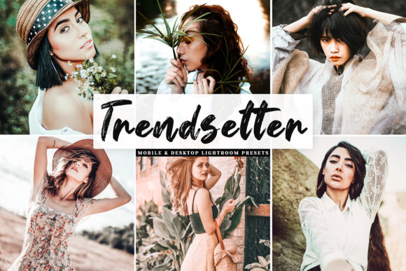 Print on Demand: Trendsetter Pro Lightroom Presets Graphic Actions & Presets By Creative Tacos