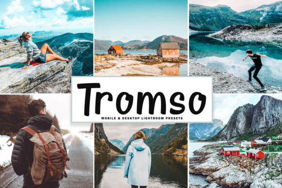 Print on Demand: Tromso Lightroom Presets Pack Graphic Actions & Presets By Creative Tacos