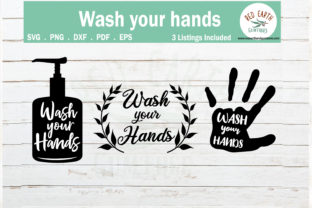 Wash Your Hands Sign Making Graphic Crafts By redearth and gumtrees