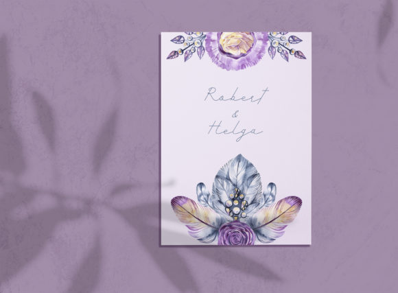 Watercolor Crystal Roses Cliparts Graphic Illustrations By NataliMyaStore - Image 3