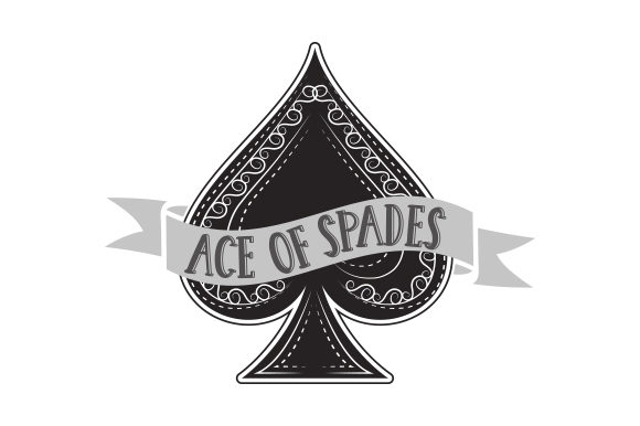 Ace of Spades Games Craft Cut File By Creative Fabrica Crafts