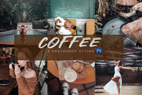 Download Free 6 Coffee Photoshop Actions Acr And Luts Graphic By 3motional for Cricut Explore, Silhouette and other cutting machines.