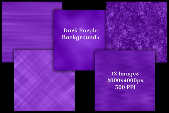 Download Free Dark Purple Backgrounds 12 Image Set Graphic By for Cricut Explore, Silhouette and other cutting machines.