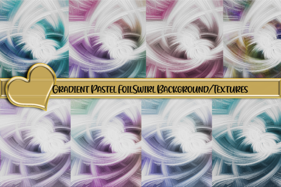 Foil Gradient Swirl Design Backgrounds Gráfico Fondos Por AM Digital Designs