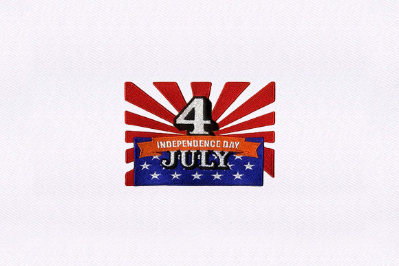 Independence Day Independence Day Embroidery Design By DigitEMB