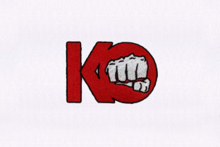 KO Punch Games & Leisure Embroidery Design By DigitEMB