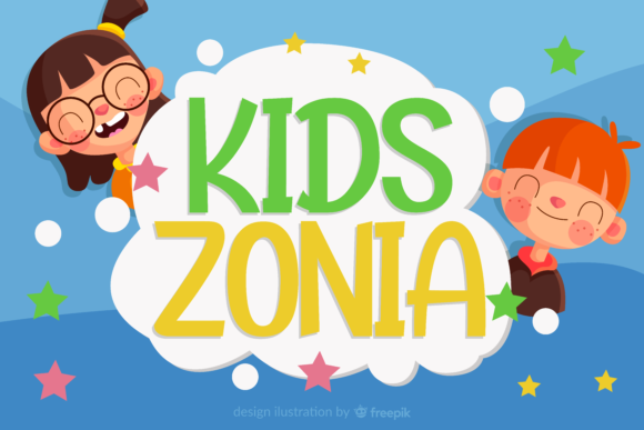 Print on Demand: Kidszonia Display Font By ahweproject - Image 1
