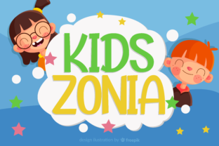 Print on Demand: Kidszonia Display Font By ahweproject