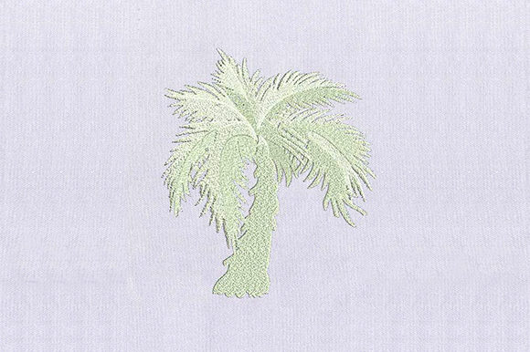 Light Tree Forest & Trees Embroidery Design By DigitEMB