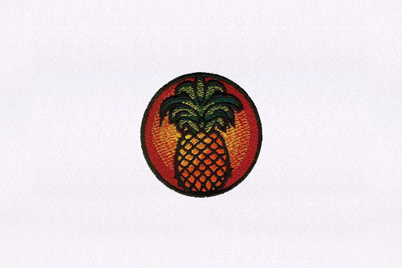 Pineapple Food & Dining Embroidery Design By DigitEMB