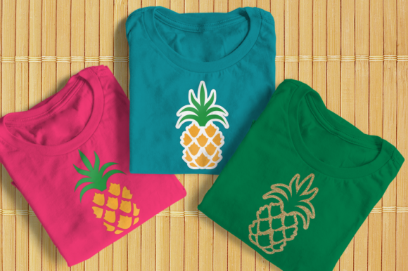 Pineapple Graphic Crafts By DesignedByGeeks