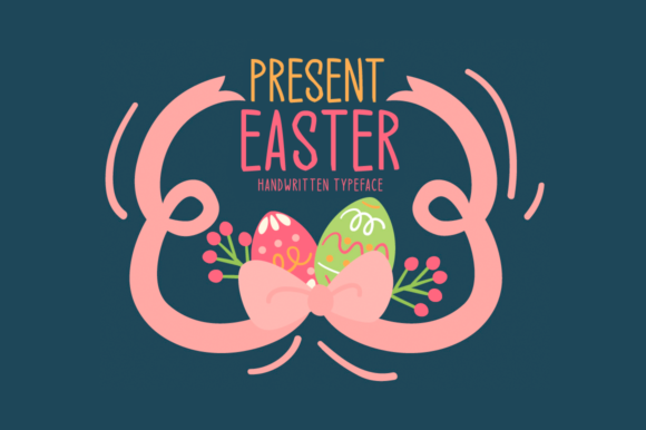Print on Demand: Present Easter Display Font By Seemly Fonts