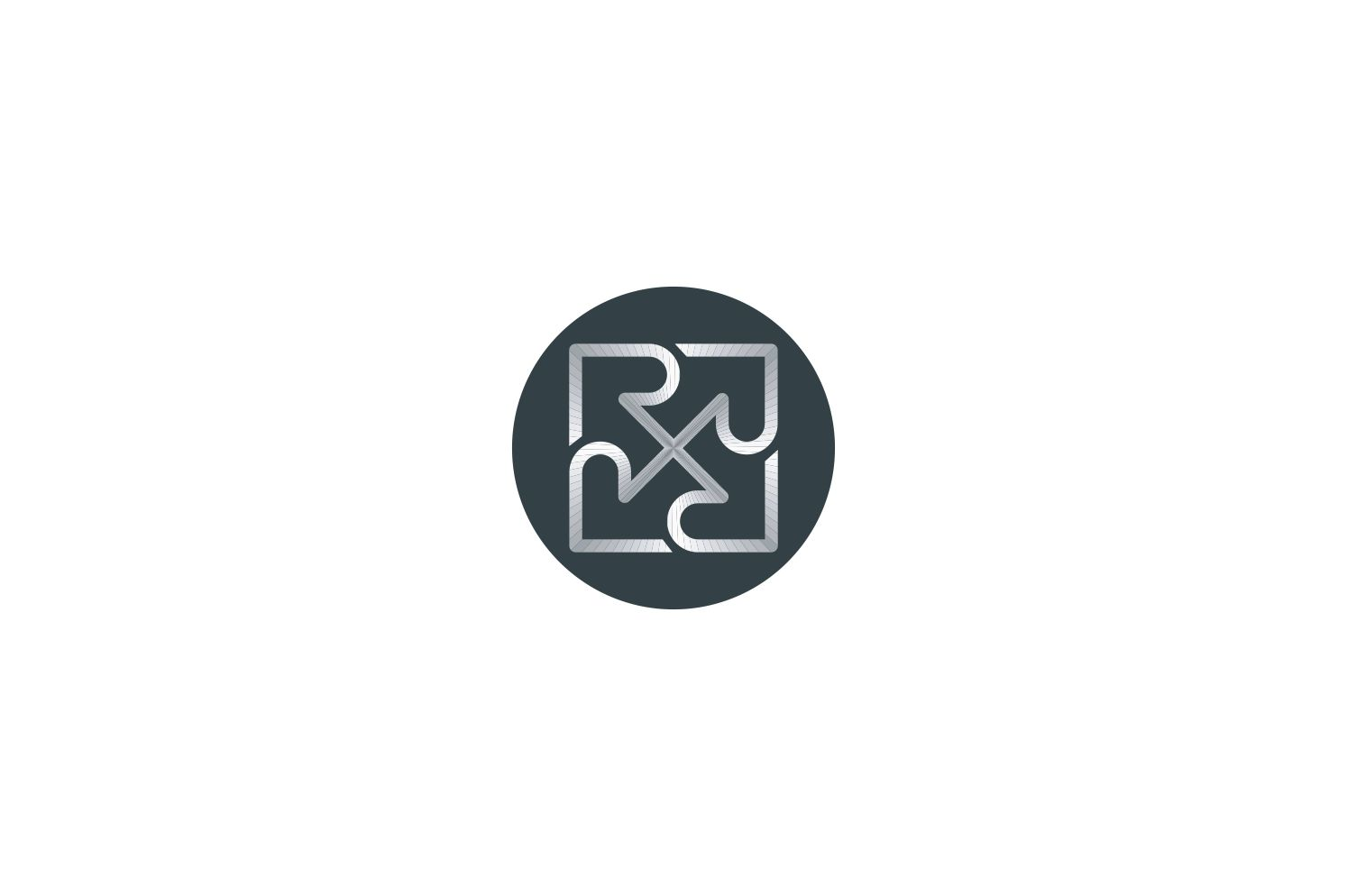 R Letter Logo Design Graphic By Bentang Tebe Creative Fabrica