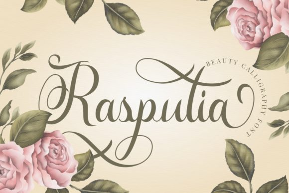 Print on Demand: Rasputia Script & Handwritten Font By putracetol