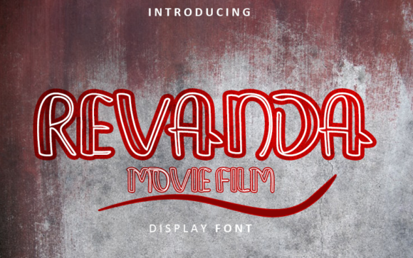 Download Free Revanda Font By Inermedia Studio Creative Fabrica for Cricut Explore, Silhouette and other cutting machines.