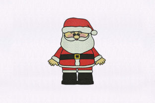 Santa Claus Gnome Christmas Embroidery Design By DigitEMB
