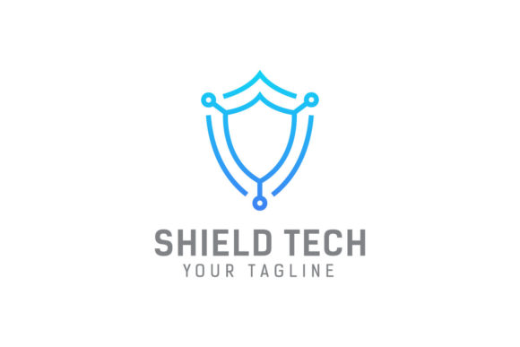 Download Free Security Tech Logo Design Template Grafico Por Syaefulans for Cricut Explore, Silhouette and other cutting machines.