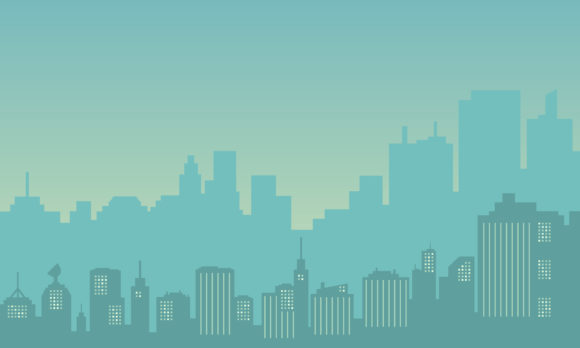 Download Free Silhouette Of City Building Graphic By Cityvector91 Creative for Cricut Explore, Silhouette and other cutting machines.