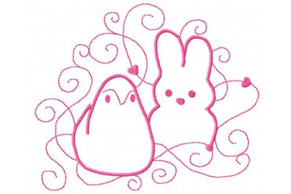 Sweet Easter Easter Embroidery Design By Sue O'Very Designs